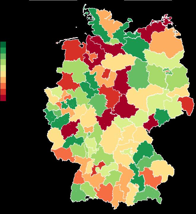 Plz Karte Deutschland Kostenlos Download.Excel Karten Clear Simple Analytics
